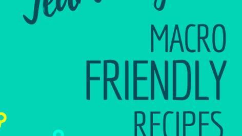 Macro Friendly Recipes Guide