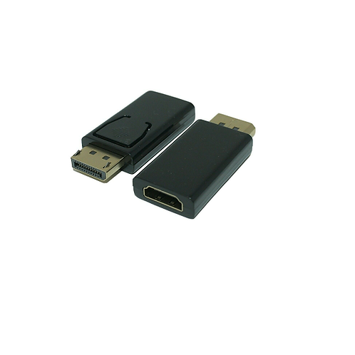 Vista frontal del adaptador Displayport to HDMI