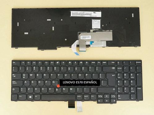 Teclados Lenovo Thinkpad E570 E570c E575 Español
