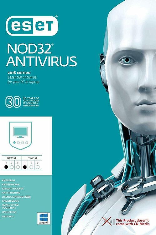 Antivirus 2019 NOD 32 Licencia 1PC por 1año