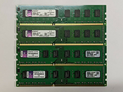 Memoria Ram de 4GB PC3-10600 CL9 240-Pin