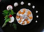 Carpacio de Truffe d'été & Saumon sur un lit de crème truffée