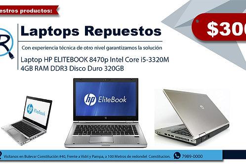 Laptop HP ELITEBOOK 8470p Intel Core i5-3320M 4GB RAM DDR3 Disco Duro 320GB