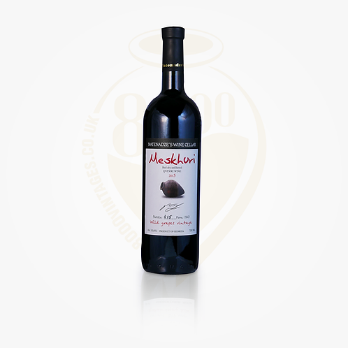 Meskhuri Red Wild Grapes Qvevri Wine 2016 | Georgian Wine | Meskhuri