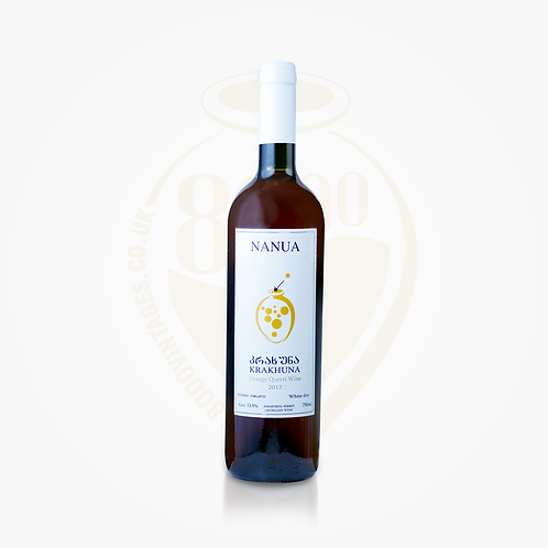 Krakhuna  Proper Amber (Orange) Qvevri Wine 2017 | Georgian Wine | Nanua