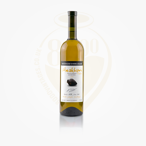 Meskhuri White (Orange/Amber) Qvevri wine 2016 | Georgian Wine | Meskhuri