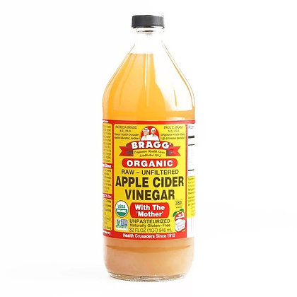 Bragg Raw Unfiltered Organic Apple Cider (32 fl.oz.)