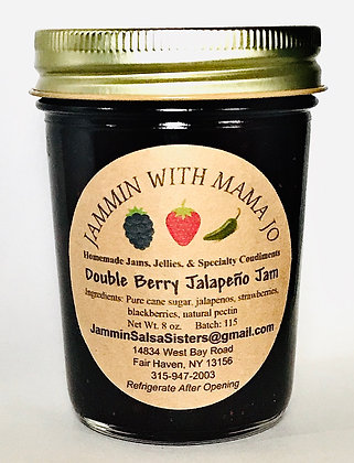 Double Berry Jalapeno Jam