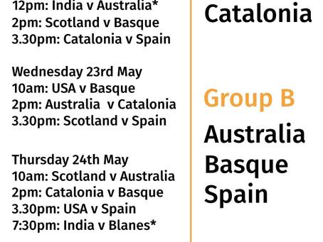 Fixtures announced for U20 Men's World Cup