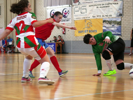 Experience counts as Russians blast ten past Basques