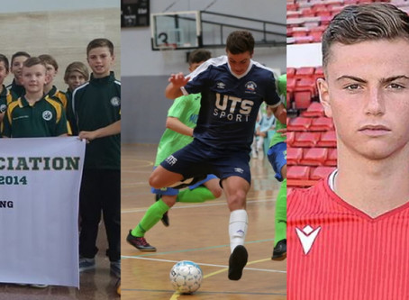 Futsal, football and Forest - Luca's hard work pays off