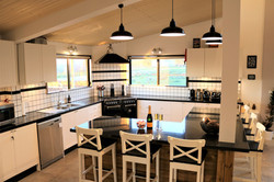 A chef's kitchen
