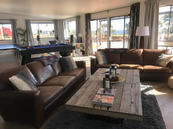The games room lounge area