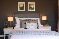 Beautifully styled bedrooms