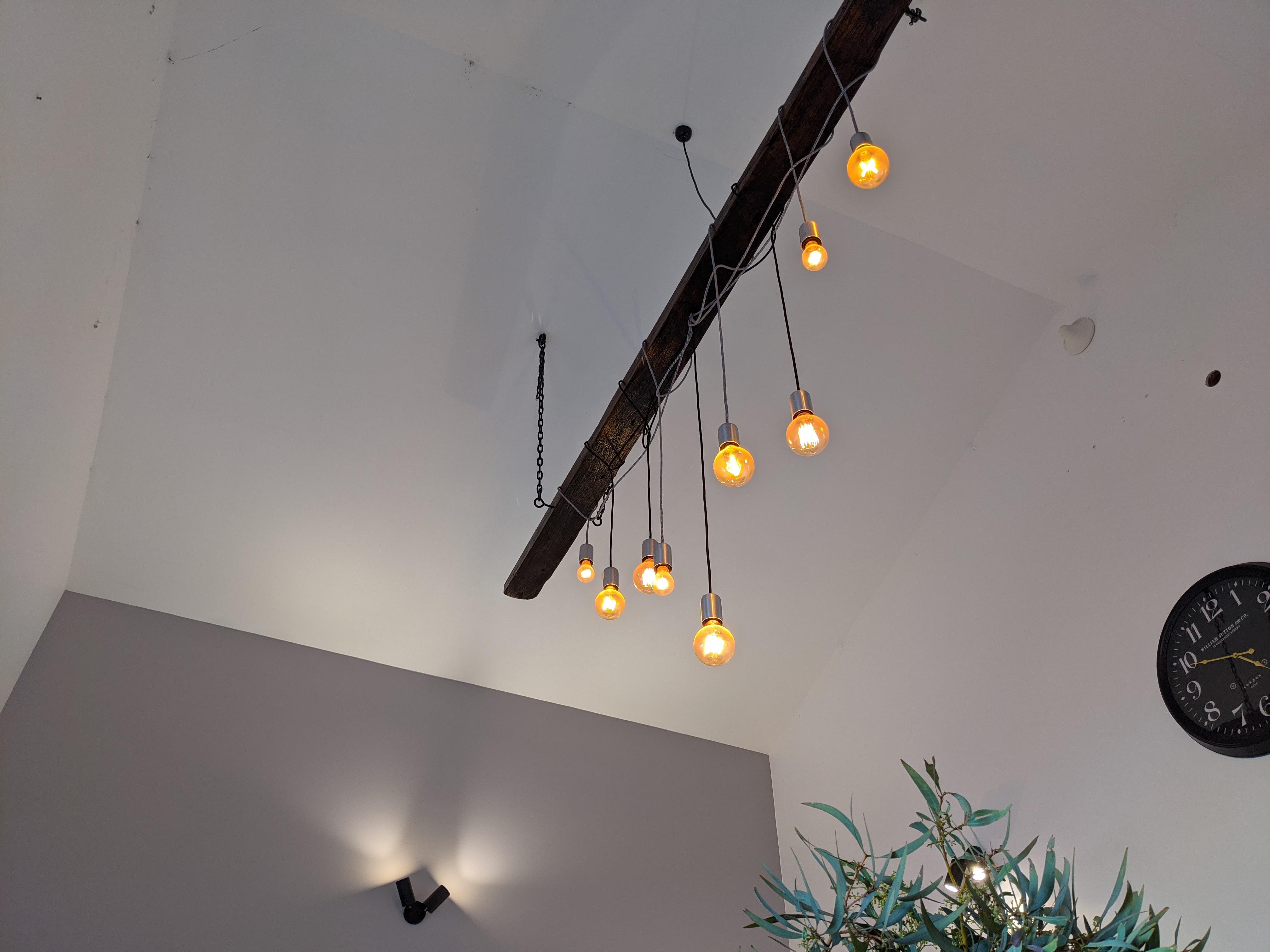The Lodge - Dining Room Lighting