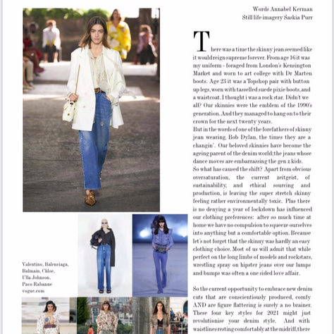 The New Denim:  Frank Magazine