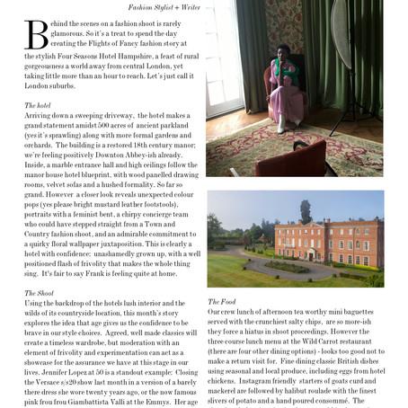 Story of a Shoot:  Frank Magazine