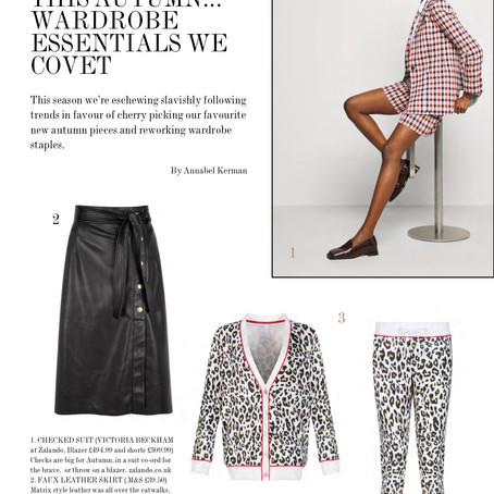 A/W Wardrobe Pieces:  Frank Magazine