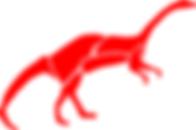 Anchisaurus Dinosaur Logo