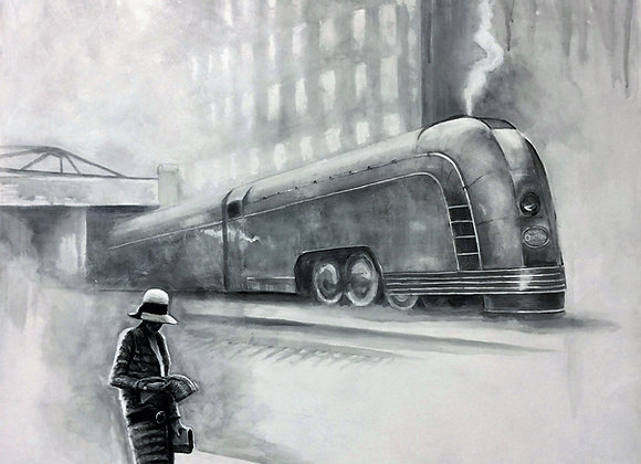 """The New Yorker, 30"""" x 40"""""""