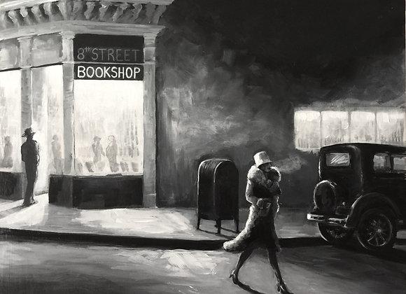 """Book Shop Glow"""