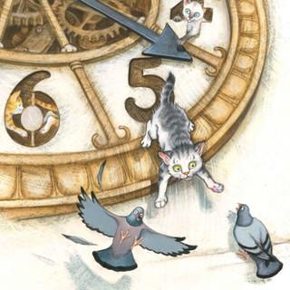 Tick Tock Kitty Clock