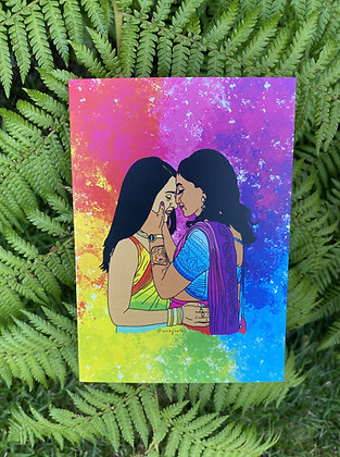Love is Love Art Print | PRIDE A6 Greeting Card