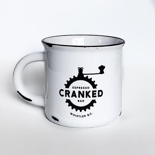 Cranked Ceramic Coffee Mug