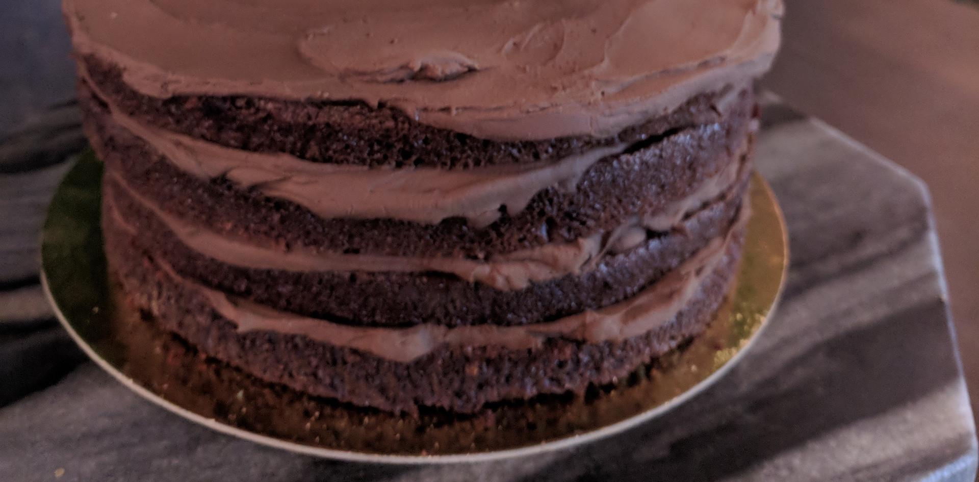 Chocolate Ganache Vegan Cake