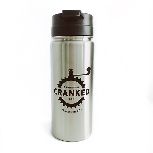Cranked Tall Stainless Steel Bottle