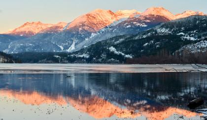 Green Lake Alpenglow