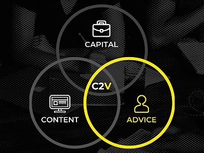 C2V provides content, capital and advice