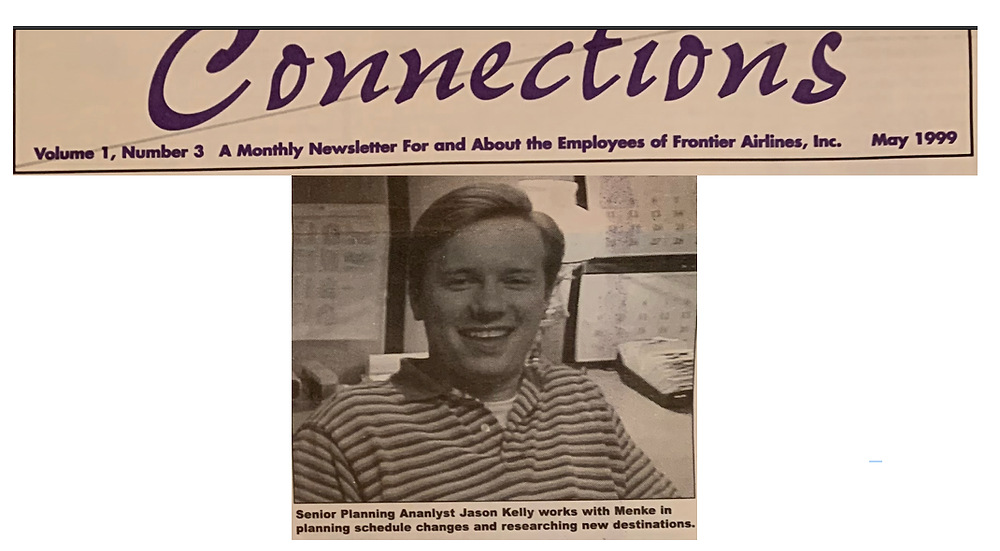 Jason Kelly Connections May 1999