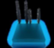 La box wifiAbord fournit du Wifi à bord pour soixante connexions