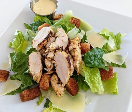 Grilled Chicken Caeser Salad