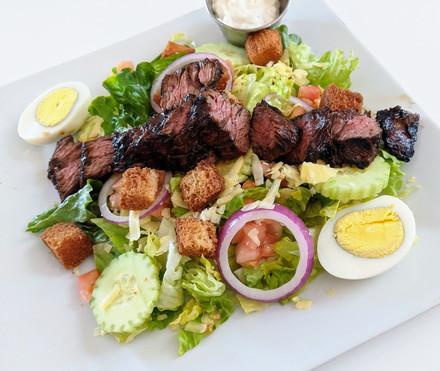 Honey BBQ Steak Chopped Salad