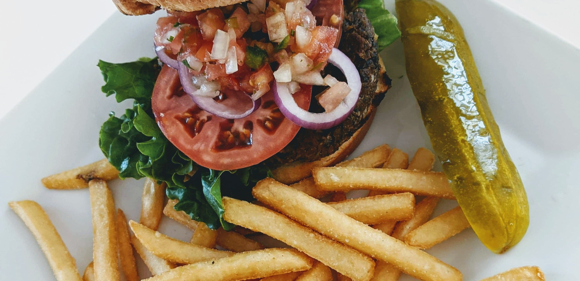 Southwest Black Bean Vegetarian Burger