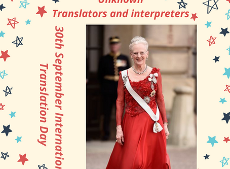 """Unknown"" translators and interpreters"