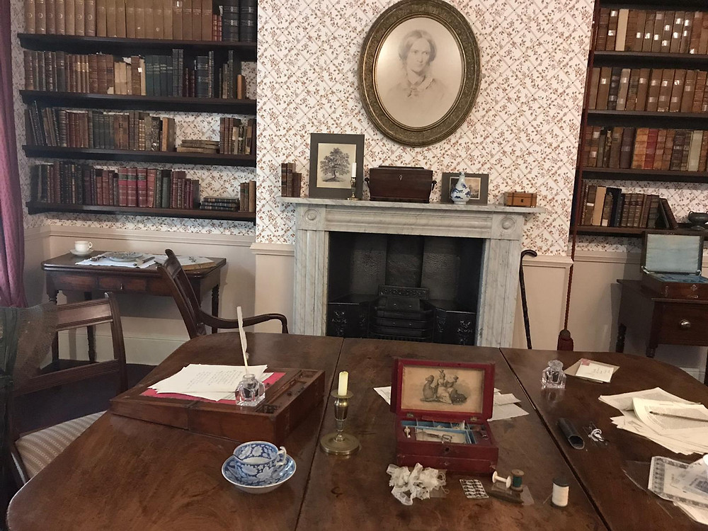 Where the Bronte sisters wrote their books.