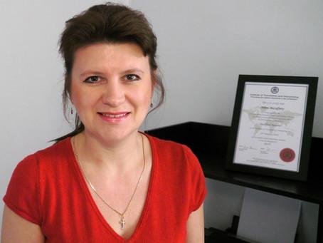 Talk Russian's Yelena McCafferty joins top translation association