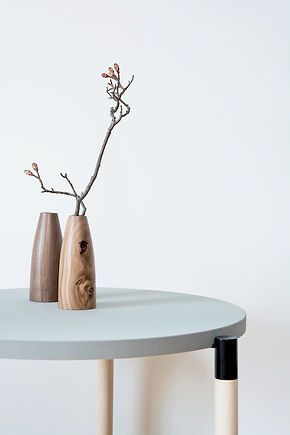 Unique Handmade Wooden Vases Rare Beauty by Alexander Ortlieb