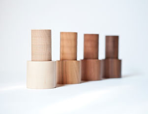 Handturned Wooden Spice Mills Spice_It! by Alexander Ortlieb