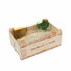 Set Of 3 Small Glasses + Medium Jug