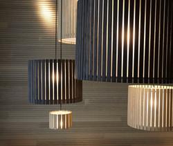 Fambuena Luz Oculta Wood Pendant
