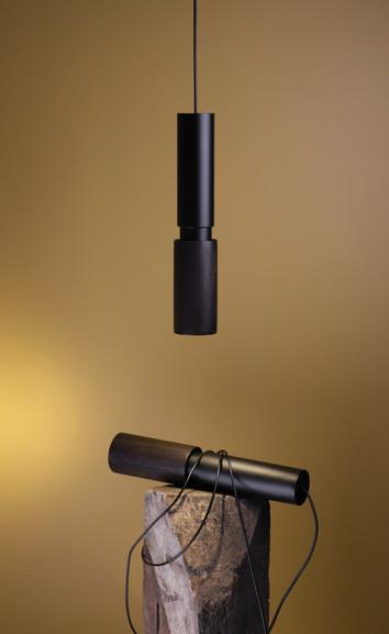 Studio davidpompa Amelia Black Pendant