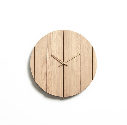 Omelette Editions Parallels Wall Clock