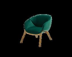 SP01 Anita Rod Base Armchair