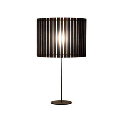 Fambuena Luz Oculta Wood Table Lamp