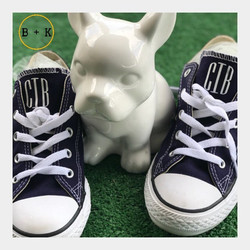 Feeling my self today monogrammed canvas shoes to match my Astros championship gear...jpg