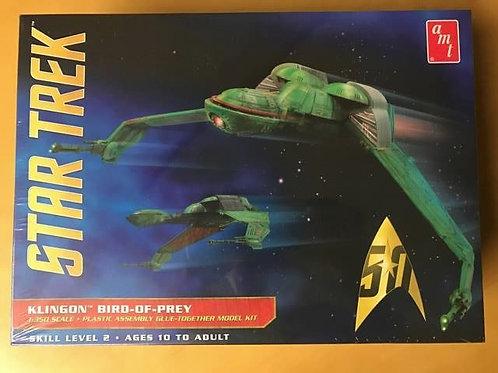 1:350 AMT Klingon Bird of Prey (50th Anniversary Edition)